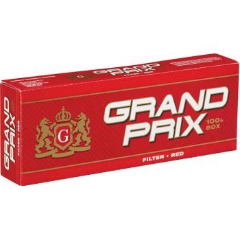 Grand Prix Red 100s Box