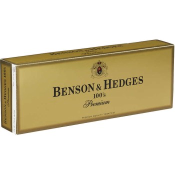 Benson & Hedges 100s Box