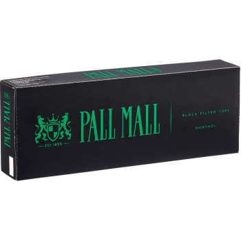 Pall Mall Black 100s Box