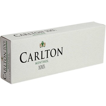 Carlton Menthol 100s Box