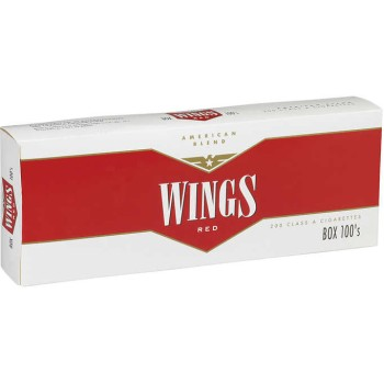 Wings Red 100s Box