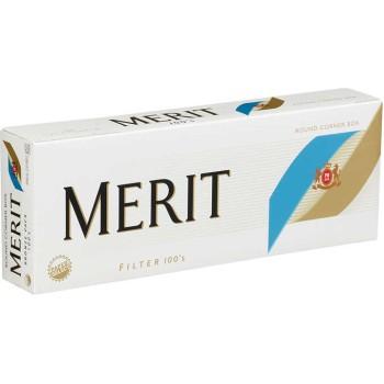 Merit 100s Bronze Pack Box