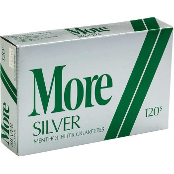 More Menthol Silver 120s Soft Pack