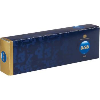 State Express 555 Gold Box