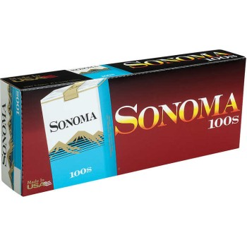 Sonoma Blue 100s Soft Pack
