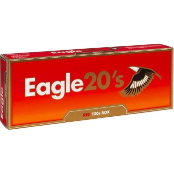 Eagle 20s Red 100s Box