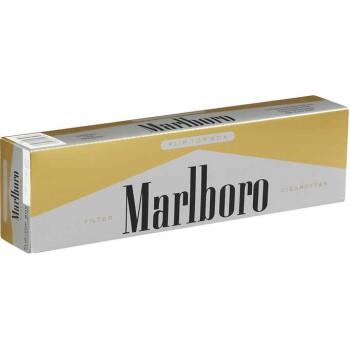 Marlboro 72s Gold Pack Box