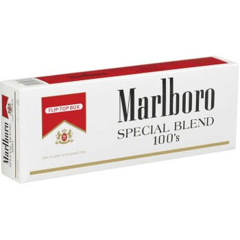 Marlboro Special Blend Red 100s Box