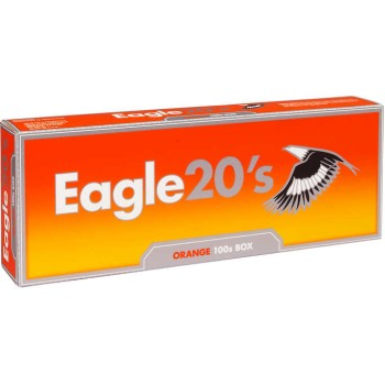 Eagle 20s Orange 100s Box