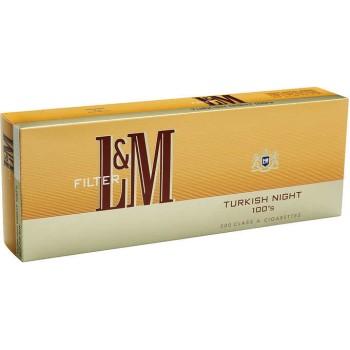 L&M Turkish Night 100s Box