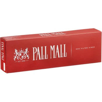 Pall Mall King Red Box