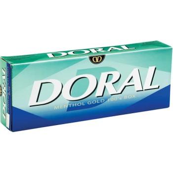 Doral Menthol Gold 100s Box