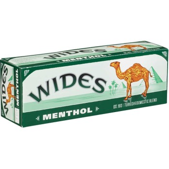 Camel Wides Menthol Box