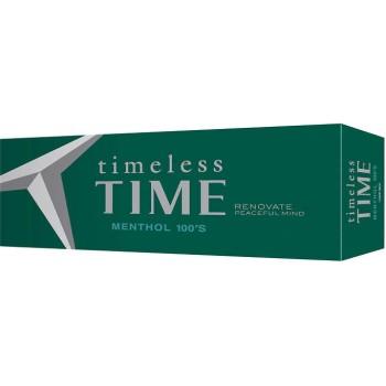 Timeless Time Menthol 100 Box