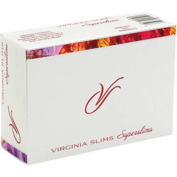 Virginia Slims Super Slim 100s Box