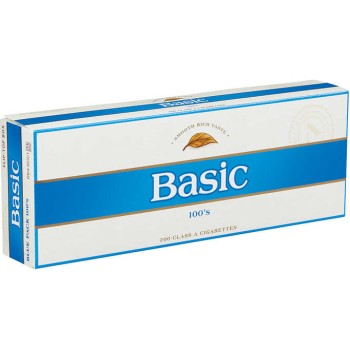 Basic 100s Blue Pack Box