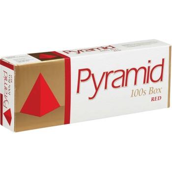 Pyramid Red 100s Box