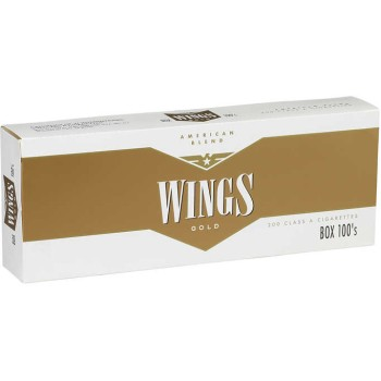 Wings Gold 100s Box