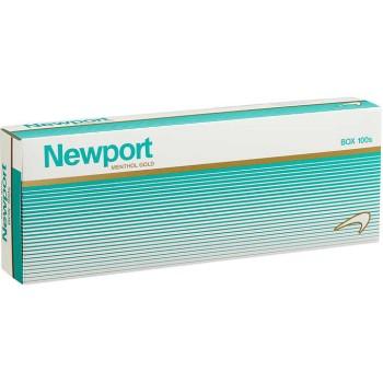 Newport Menthol Gold 100s Box