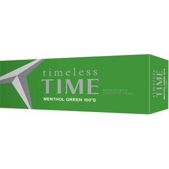 Timeless Time Menthol Green 100 Box
