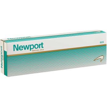 Newport Menthol Gold Box
