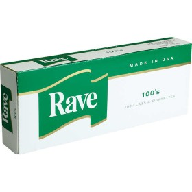 Rave Menthol Dark Green 100s Box