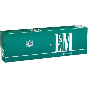 L&M Menthol King Box