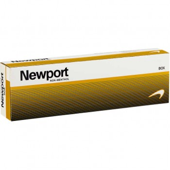 Newport Non-Menthol Gold King Box