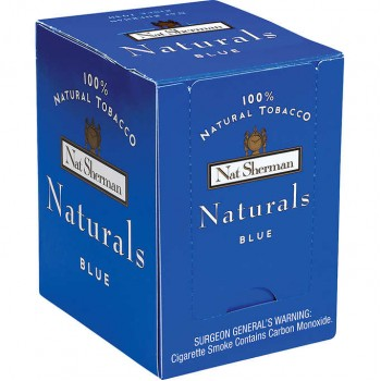 Nat Sherman Naturals Blue Box