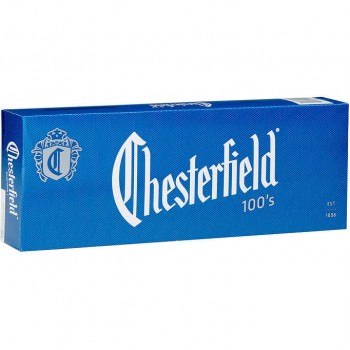 Chesterfield Blue 100s Box