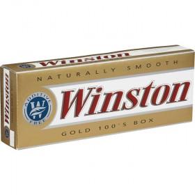 Winston Gold 100s Box