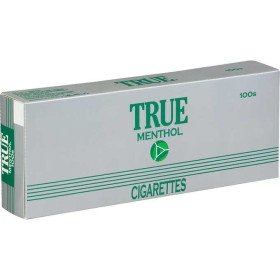 True Green Menthol 100s Box