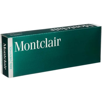 Montclair Menthol 100s Box