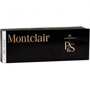 Montclair Black 100s Box