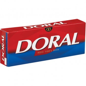 Doral Red 100s Box