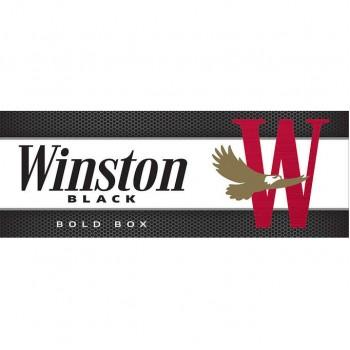 Winston Black 100s Box