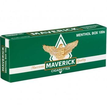 Maverick Menthol 100s Box