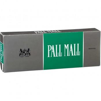 Pall Mall Classic Menthol 100s Box