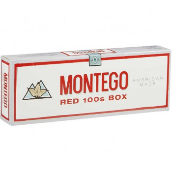 Montego Red 100s Box