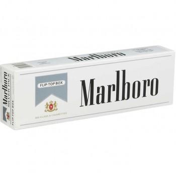 Marlboro Silver Pack Box