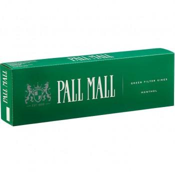 Pall Mall King Menthol Box