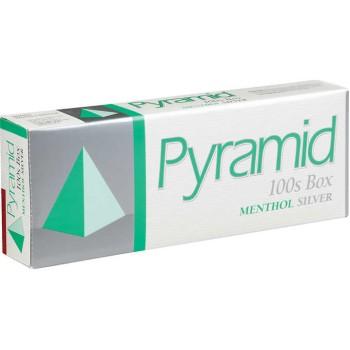 Pyramid Menthol Silver 100s Box