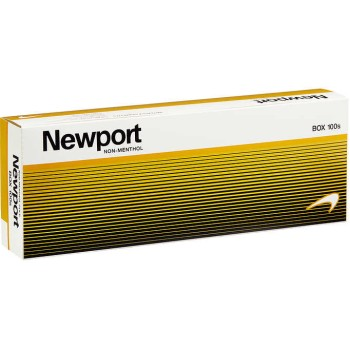 Newport Non-Menthol Gold 100s Box
