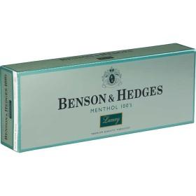 Benson & Hedges Menthol 100s Luxury Box