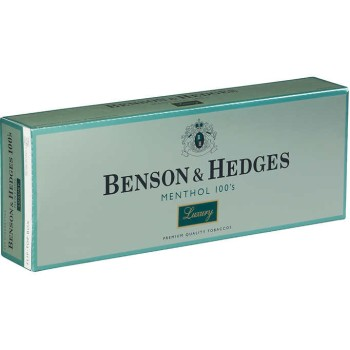 Benson & Hedges Menthol 100s Luxury Box