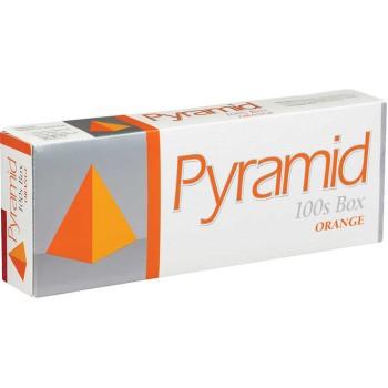Pyramid Orange 100s Box
