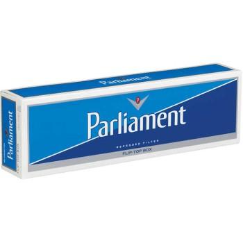 Parliament White Pack Box