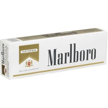 Marlboro Gold Pack Box