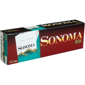 Sonoma King Menthol Green Box