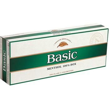Basic Menthol 100s Box